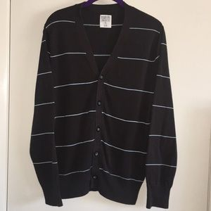 Mossimo Supply Co. Striped Cardigan Sweater